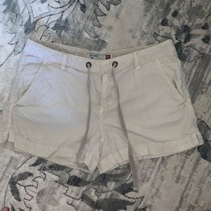 OLD NAVY ultra low waist cotton shorts 8